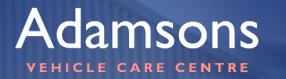 Adamsons Vehicle Care Centre